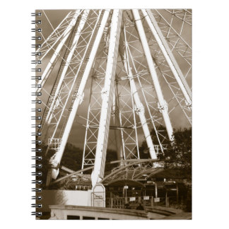 The Wheel of Plymouth Spiral Note Books