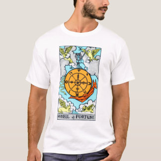 The Wheel Tarot Card T-Shirt