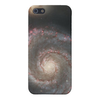 The whirlpool galaxy (M51) and companion galaxy iPhone 5 Case