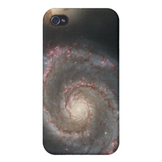 The whirlpool galaxy (M51) and companion galaxy iPhone 4 Cover