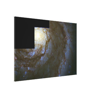 The Whirlpool Galaxy (M51) Stretched Canvas Print