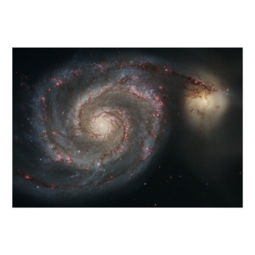 The Whirlpool Galaxy Posters