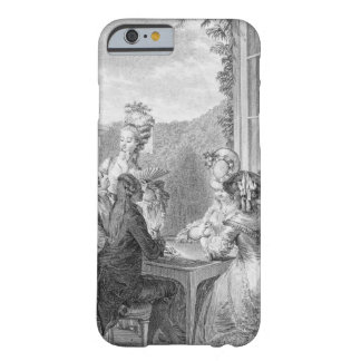 The Whist Party, 1783, engraved by Jean Dambrun (1 Barely There iPhone 6 Case