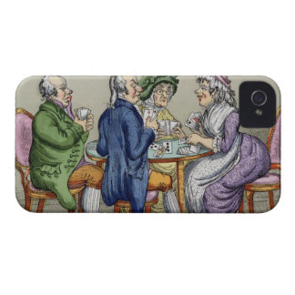 The Whist Party (colour litho) Blackberry Cases