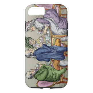 The Whist Party (colour litho) iPhone 8/7 Case