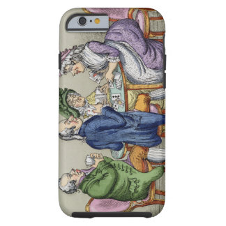 The Whist Party (colour litho) Tough iPhone 6 Case
