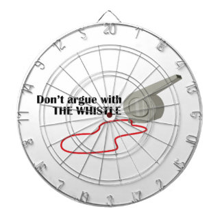 The Whistle Dart Board