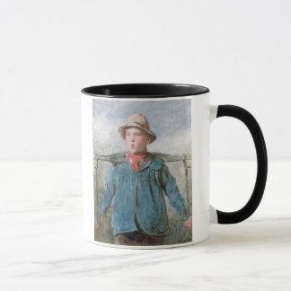 The Whistling Farm-Hand, 19th century (w/c and bod Mug