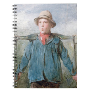 The Whistling Farm-Hand, 19th century (w/c and bod Note Books