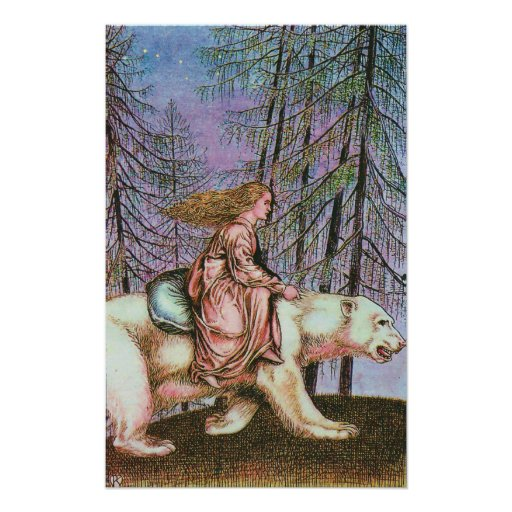 The White Bear Takes Her to the Castle Poster