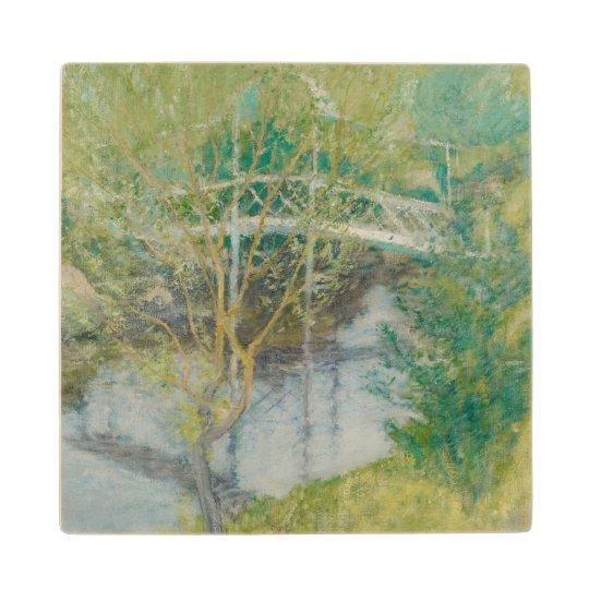 The White Bridge, c.1895 (oil on canvas) Wood