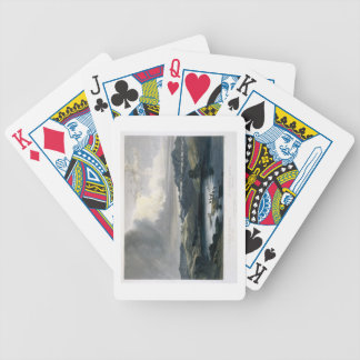 The White Castels on the Upper Missouri, plate 37 Bicycle Playing Cards
