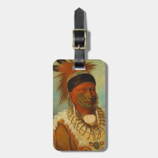 The White Cloud, Head Chief of the Iowas Luggage Tag