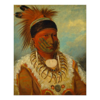 The White Cloud, Head Chief of the Iowas Poster