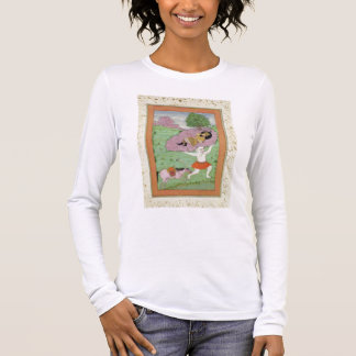 The White Demon carrying off the sleeping Rustam, Long Sleeve T-Shirt