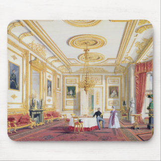 The White Drawing Room at Windsor Castle (colour l Mousepads