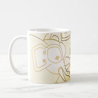 the white elephant basic white mug
