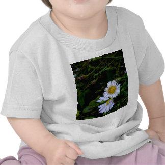 The white flower shirt