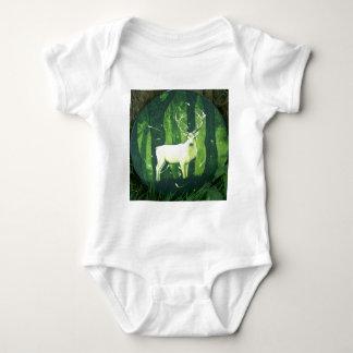 The White Hart Baby Bodysuit
