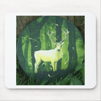 The White Hart Mouse Pad