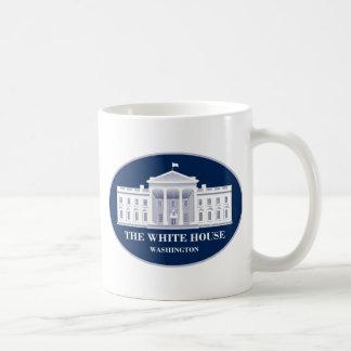 The White House Basic White Mug
