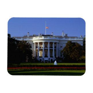The White House Rectangular Photo Magnet