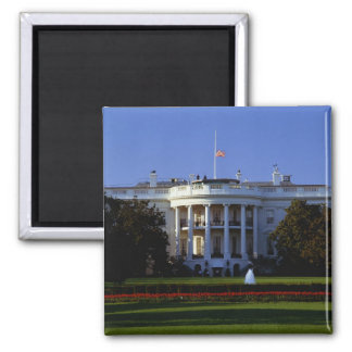 The White House Square Magnet