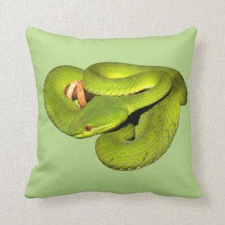 The white-lipped pit viper cushion