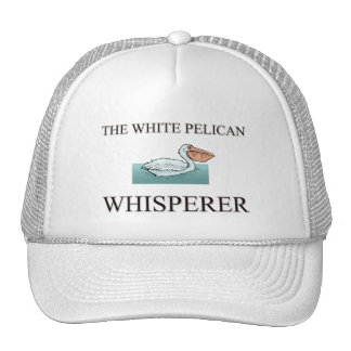 The White Pelican Whisperer Hat
