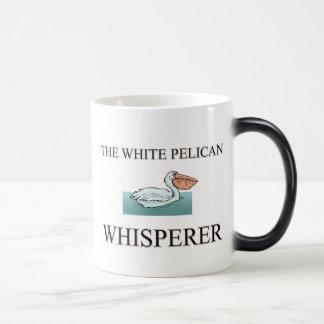 The White Pelican Whisperer Mug