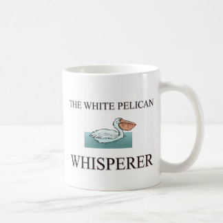 The White Pelican Whisperer Coffee Mugs