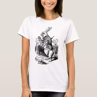 The White Rabbit and Pocket Watch T-Shirt