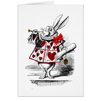 The White Rabbit Card