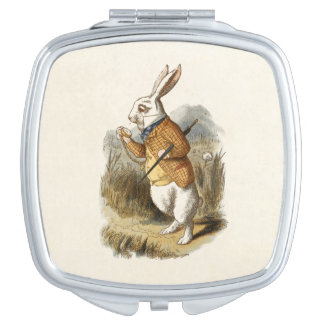 The White Rabbit Compact Mirror