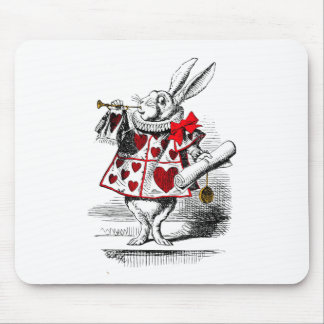 The White Rabbit Mouse Mat