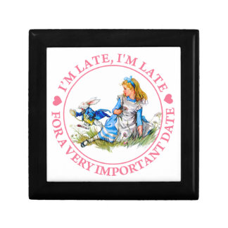 The White Rabbit Rushes By Alice In Wonderland Gift Box