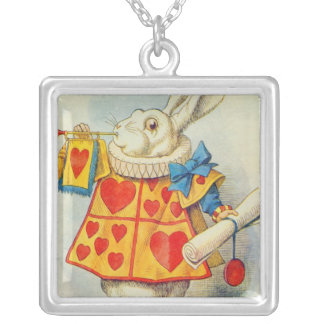 The White Rabbit Silver Plated Necklace