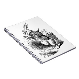 The White Rabbit Spiral Notebook