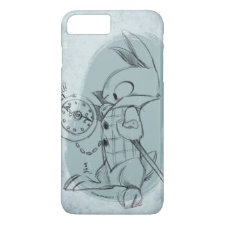 The White Rabbit (textured) iPhone case