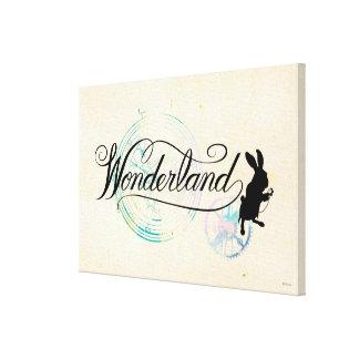 The White Rabbit | Wonderland 2 Canvas Print