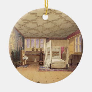 The White Room, Cotehele house, c.1830-40 (colour Christmas Ornament