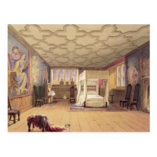 The White Room, Cotehele house, c.1830-40 (colour Postcard