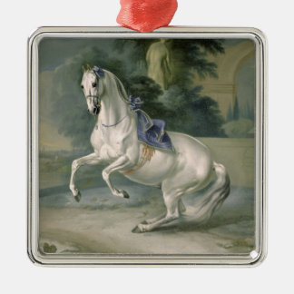 The White Stallion 'Leal' en levade, 1721 Christmas Ornament