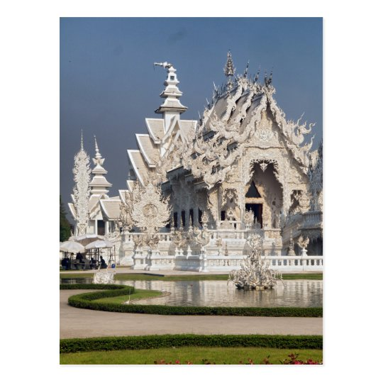 The White Temple (Wat Rong Khun), Thailand Postcard