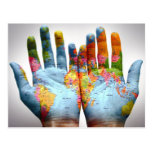 The Whole World In His Hands Postcard