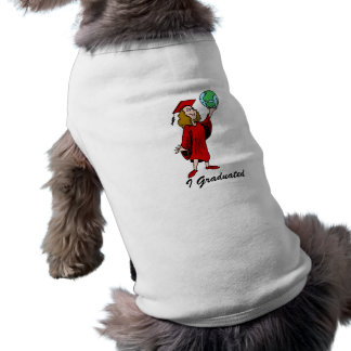 The whole world is out there pet t-shirt