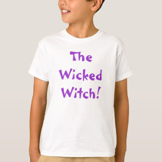 The Wicked Witch! Halloween Girl Shirt
