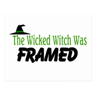 The Wicked Witch Was Framed Postcard