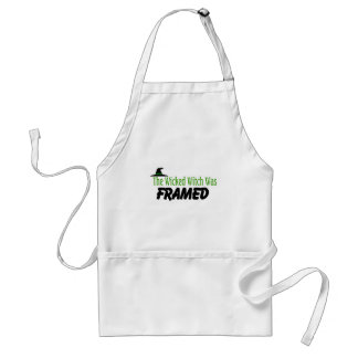 The Wicked Witch Was Framed Standard Apron