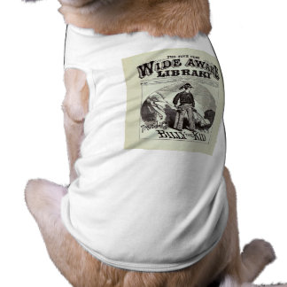 The Wide Awake Library - Billy The Kid - Vintage Pet T-shirt